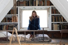 """Books & Book Nooks /  """"If a book is well written, I always find it too short."""" - Jane Austen / by Molly James"""