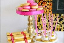 Glam Party Inspiration / Glitter and Glam. Event inspirtation.