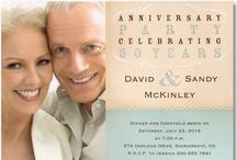 Anniversary Invitations & Celebrations / Inspirations & Invitations for your memorable Anniversary Celebration!
