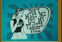 Classroom Ideas / I teach.... therefore I am.... / by Holly Gribble Westfall