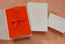Tangerine Tango / 2012 Color of the Year - A study in color.