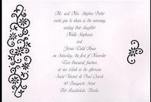 Black & White Wedding / Everything for your eye-catching Black & White Wedding
