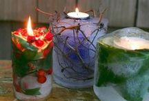 DIY Candles & Candle Holders / by Kelly Thompson