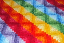 Quilts - Rainbow for baptism