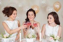 Bridal Shower / Bridal shower theme ideas, bridal shower decorations, wedding shower gift ideas