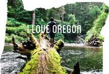 I Live in Oregon... Oregon's my home / by Holly Gribble Westfall