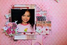 ~The scrapbook of mine~ / My Scrapbook layouts, for my design team and other blog challenges...