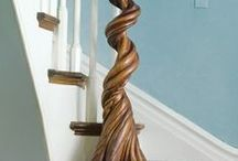 Inspired by wood / Combining decorative elements with wood and wood work