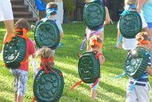 TMNT Birthday Party / Teenage Mutant Ninja Turtle Party