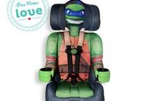 Cowabunga, TMNT / The coolest TMNT gear out there. From car seats, decorations and a wide variety of products.