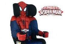 The Ultimate Spiderman / Spiderman car seats/boosters, decorations and all products spiderman.