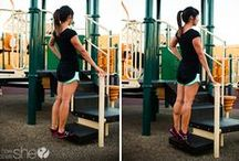 Easy Workouts for Mom / Workouts you can actually fit into your daily life between school activities, sports and playdates.