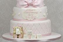 doopfeest | babycake | babytaart / babytaarten voor doopfeest, babyshower, verjaardagsfeest of geboortefeest cakes and sweets for baptism, babyshower, christening