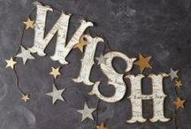 Wish list / by Sproet