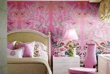 Pretty in pink decor / by Taylor Greenwalt Interiors