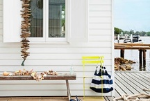 Design - B E A C H  H O U S E / One day I will have a gorgeous weatherboard cottage by the seaside........