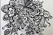 Art Ideas / Cute things to do when you are bored in your art room. / by Erin