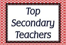 Top Secondary Teachers / A collection of products from the best of the best upper elementary, middle, and high school teachers in the world! / by Simply Novel