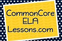 CommonCoreELALessons.com / Board dedicated to everything ELA Common Core!  Free and for-purchase materials, lessons, tips, and more for teaching the Common Core State Standards. Feel free to browse posts below, or visit our site at www.commoncoreelalessons.com. Enjoy! / by Simply Novel