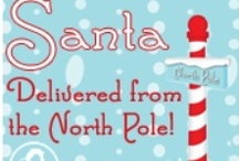 Santa is coming to town!  /  Ho! Ho! Ho! Spread some holiday joy by ordering a letter from Santa for your little one! http://bitly.com/RwsYCF