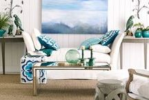 Tantalizing Turquoise / by Taylor Greenwalt Interiors