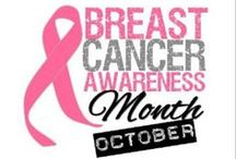 Support PINK! / Images of pink for breast cancer survivors and for those who succumbed.