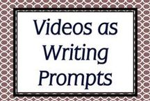 Video Writing Prompts / Short videos to prompt your students for in-class or process writing. / by Simply Novel Teaching