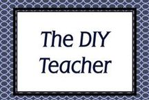 The DIY Teacher / For DIYers who also happen to be teachers, and the other way around. Pins full of ideas for DIY projects both in and out of the classroom. / by Simply Novel
