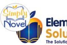 Elementary Solutions Products / Products for teaching English Language Arts in grades 2-5 by Elementary Solutions, a division of SIMPLY NOVEL, www.simplynovel.com / by Simply Novel