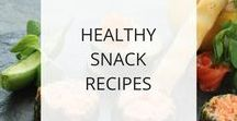 Healthy Snack Recipes / Here you'll find snack recipes that are healthy, delicious, and (mostly) easy.  A healthy way to snack so that you feel and look your best.