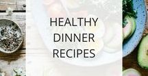 Healthy Dinner Recipes / Find healthy dinner recipes here to help you prepare easy, quick, & delicious meals at home. Home cooking is one of the best ways to improve your health because YOU control what you're putting in your body.
