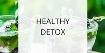 Healthy Detox / Detoxing your system by eating clean whole foods can help clear your skin, boost your energy, support healthy weight loss, and diminish bloating. It's a great way to rest and reset your system.