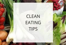 Healthy Eating Tips / Eating healthy is one of the best ways to improve your overall health, feel and look your best, and have plenty of energy to run your business, achieve your goals, and pursue your dreams. There's a lot of conflicting info out there about how to eat healthy, so I've created this collection of healthy eating tips to help make it simple to eat healthier.