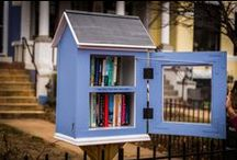 Little Free Libraries / Collection of ideas and resources for starting my little library.