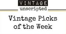 "Vintage Picks Of The Week / Sharing the ""why"" & ""how"" of incorporating our favorite vintage pieces into your decor."