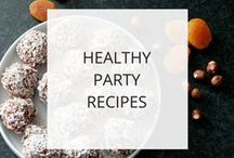 Healthy Party Recipes / As a bride-to-be, it can be hard to lose weight for your wedding while making the rounds of wedding showers and engagement parties.  This board is full of recipes for entertaining that are fun & tasty, but easy on your waistline.  If someone is planning a shower for you and you want to have healthier options, be sure to send them here for ideas.