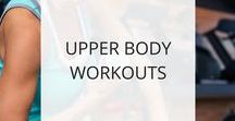 Upper Body Workouts / Here you'll find upper body workouts to tone and strengthen your arms, shoulders, and upper-back.  Just remember, you can't spot-reduce fat. If you're carrying extra fat on your arms and shoulders, you'll also want to do fat-burning workouts that reduce the fat surrounding your arm and shoulder muscles.