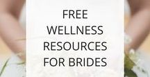 Free Wellness Resources for Brides / My wedding gift to you -- free resources to help you get in shape for your wedding day. These are resources I developed when my coaching practice was focused on bridal wellness -- clean eating plans, exercises, recipe guides, & detoxes to help you look and feel your best on your wedding day. All resources are electronic and can be instantly downloaded. If you have any trouble with the links or download, please email me at valwongwellness@outlook.com and I'll get them right to you!