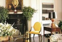 Black Mantels/Fireplaces / by My Interior Life/ K Interiors