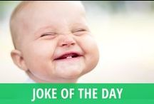 TV Joke of the Day / Laughter is the best medicine. Did you know it takes more muscles to frown than to smile? Daytime TV talk shows often have a way of making you chuckle, and you can always find an inspiring lift with our TV joke of the day. From the funny segments, shares, and viral videos on Ellen DeGeneres to the monologues and pranks of late night TV talk show hosts like Jimmy Fallon, David Letterman and Jimmy Kimmel, this is the place to laugh at jokes you will want to share with your friends on social media. / by RECAPO