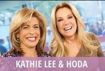 Kathie Lee & Hoda / They might seem like morning TV's oddest couple, but Kathie Lee Gifford and Hoda Kotb have become two peas in a pod, drinking their way through the fourth hour of NBC's Today Show each weekday. The ladies love their Wines-day Wednesday, share Bobbie's Buzz product reviews, and give you dramatic fashion solutions in weekly Ambush Makeovers. Get parenting advice, cocktail recipes, weight loss tips, expert style advice, original music, and hot Today's Talk gossip daily from Kathie Lee & Hoda! / by RECAPO