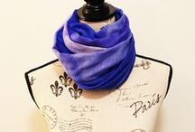 Luxury Handcrafted Scarves / Handcrafted Luxury Scarves made from fine Cashmere & Wool featuring Nature Photography