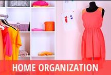 Home Organization / Whether you are facing an empty nest or just want to tackle some spring cleaning, there is never a wrong time to get your house in order. Home organization is a popular topic on daytime TV talk shows, and experts like Peter Walsh on The Rachael Ray Show or interior designer Nate Berkus are at the ready to show you how to make a space fit your style & personality. You can put these tips to use anytime to take advantage of feng shui, find a better way to organize your kitchen or closet, and more! / by RECAPO