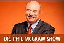 Dr Phil McGraw Show / Dr. Phil McGraw is the host of one of daytime TV's most popular talk shows. He was once a familiar face on Oprah Winfrey's long-running show before getting his own chance to have a daily platform. Dr. Phil is a show about relationships and families. He often works with his guests to help them find a way to forge a new path or reestablish a strong connection with the loved ones around them. Dr. Phil's drawl and outspoken demeanor prove that he is not going to put up with excuses or deception. / by RECAPO
