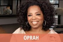 Oprah / Oprah is a TV legend who hosted her popular daytime series, The Oprah Winfrey Show, for 25 phenomenally successful years. Now she has focused her efforts on her very own cable TV network, OWN: The Oprah Winfrey Network. You can see her interviewing celebrities and newsmakers on Oprah's Next Chapter, sharing insights and lessons during Oprah's Lifeclass, or reflecting on spirituality during Super Soul Sunday. You never know what Oprah Winfrey might pop up doing next, like her role in The Butler! / by RECAPO
