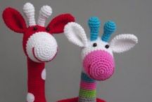 Crochet me Away, Knit me a Fit! / Crocheting and knitting