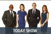 Today Show / The Today Show is the longest running morning show program in America, seen every single day on NBC! The show and its familiar orange sun logo have been waking us up for generations. Each day, the morning team of Matt Lauer, Savannah Guthrie, Al Roker, Natalie Morales, Willie Geist, and Carson Daly share a mix of news stories, consumer reviews, movie previews, Today's Kitchen recipes, and hot headlines from What's Trending Today, and the Toyota Concert Series, live from Rockefeller Center. / by RECAPO