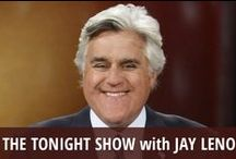 The Tonight Show with Jay Leno / The Tonight Show with Jay Leno is a part of the late night landscape. Comedian Jay Leno has hosted the classic show since taking over for the retiring Johnny Carson in 1992. He was briefly ousted in 2009 in favor of Conan O'Brien, before returning in 2010. In 2014, Jay Leno will step down & cede his spot to comedian Jimmy Fallon, who will take over the show following the Winter Olympics. Leno's popular segments over the years have included Headlines, Jaywalking, and Fake Spokesperson Auditions. / by RECAPO