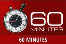 60 Minutes / 60 Minutes is a long-running primetime hit newsmagazine that can be seen Sunday nights on CBS. The series features a stable of trusted correspondents reporting on a variety of stories from the worlds of international politics, sports, domestic policy, wildlife, sports, and even entertainment. Lesley Stahl, Morley Safer, Scott Pelley, Anderson Cooper, and others are regularly featured on the talked-about and sometimes controversial program. Find out what's news this week with the 60 Minutes team. / by RECAPO