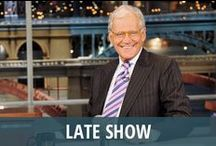 Late Show / Late Show with David Letterman is CBS's long-running flagship late night talk show, featuring the curmudgeonly host and raconteur with a dry wit. The show is taped at the Ed Sullivan Theater, and Paul Shaffer serves as bandleader of the CBS Orchestra. The iconic David Letterman Top 10 lists are a highlight of nearly every episode, with other recurring segments such as Will It Float, Stupid Human Tricks, and Small Town News. Previously, David Letterman hosted Late Night on NBC, from 1982-1993. / by RECAPO